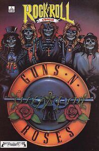 Revolutionary Comics! Rock n Roll Comics! Guns N Roses! Issue 1!