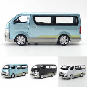 Toyota Hiace Van 1:32 Model Car Metal Diecast Gift Toy Vehicle Kids Pull Back