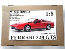 Wespe Models, Kit Ferrari 328 GTS 1985 1:8