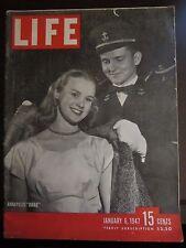 Life Magazine Annapolis Drag January 1947
