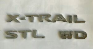 Genuine NISSAN X-TRAIL BOOT BADGES Rear Logo Emblem For All T30 T31 2001-2013