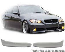 E90 BMW 0509 3er Stoßstange Frontspoiler lippe GT splitter flap TITAN SILBER