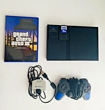 Awesome Sony PlayStation 2 Slim Charcoal Black Console
