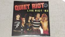 "QUIET RIOT ""LIVE RIOT '83"" LIMITED EDITION COLORED VINYL LP NEW MINT SEALED."