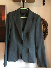 ZARA grey suit jacket trousers size 10-12