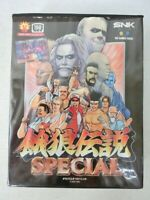 NEO GEO AES Software Fatal Fury Special Retro Game Software With Box SNK JAPAN