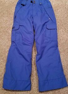 686 by Michael Kirawest Boys Mannual Ridge Insulated Pant (Blue) size M