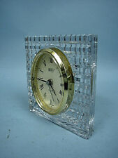 Mikasa Austrian Crystal Quartz Desk/Mantle Clock