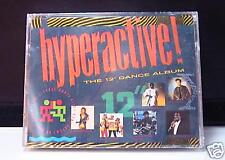 """HYPERACTIVE! 12"""" Dance Album / 2 Cassette (1988) SEALED"""