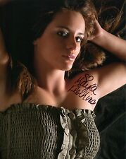 KAYLA PERKINS HAND SIGNED 8x10 COLOR PHOTO+COA          GORGEOUS+SEXY MODEL