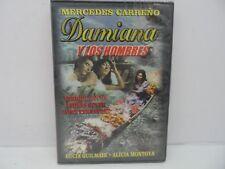 Damiana Y Los Hombres DVD, Spanish Language