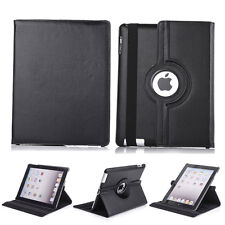 360 Rotating Leather Smart Cover Case Protective Shell For Apple iPad Mini 1 2 3