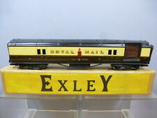 """VINTAGE """"00"""" EXLEY MODEL NoXXX   """" GWR  TRAVELLING POST OFFICE COACH  VN MIB"""