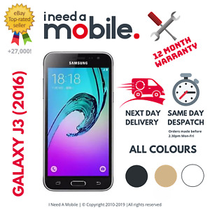 Samsung Galaxy J3 (2016) - Unlocked - All Networks - Various Colours