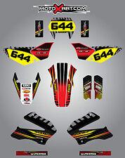 Honda Tornado XR 250 / 2002 - 2004  Full  Custom Graphic  Kit -FACTORY STYLE