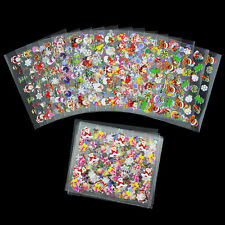 24 Sheets 3D Nail Art  Accessories Sticker Multi-Color Christmas Decorations