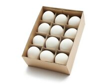 12 ausgeblasene Gänseeier 1A Qualität ca. 8-10 cm von NaDeco® | Gänse Eier | Ost