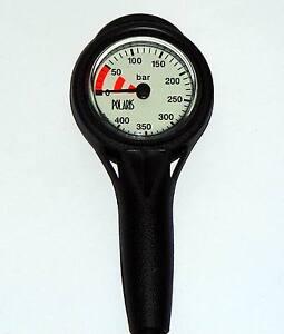 Finimeter 0-400 Bar - Slim Line SPG Messingkapsel