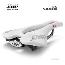 NEW 2020 Selle SMP F30C CARBON Rail Saddle SMP4BIKE Pro : WHITE - Made in Italy!