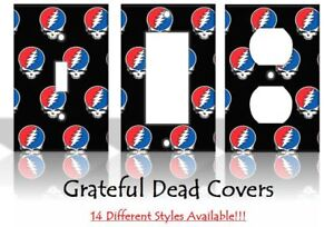 Grateful Dead Music Light Switch Covers Handmade Home Decor Outlet