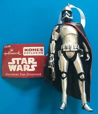 2016 Hallmark Star Wars Captain Phasma Kohls Exclusive Ornament