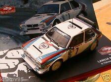 Lancia Delta S4 #7 Toivonen Cresto Vainqueur Rallye Monte Carlo 1986 1 43