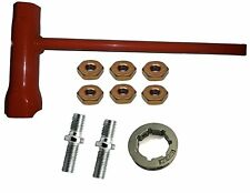 Forester Chain Saw Wrench (Scrench) 13mm by 19mm Bar Nuts Studs and Sprocket