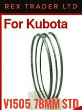 4 * Ring Set Kubota V1505/F3890 78mm Diameter 4 Cylinder STD Size