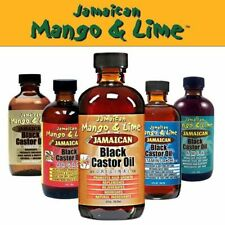 JAMAICAN MANGO & LIME JAMICAN BLACK CASTOR OILS HAIR PRODUCTS-FREE UK POST!!!!!!