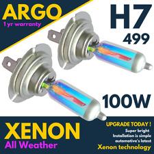 H7 Headlight Bulbs Xenon White 100w Headlamp 499 Light Rainbow Look 477 Car Hid