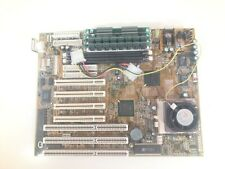 Motherboard Socket 7 P5TX-Bpro rev:20 + intel MMX 166 mhz CPU +32mb RAM  Tested