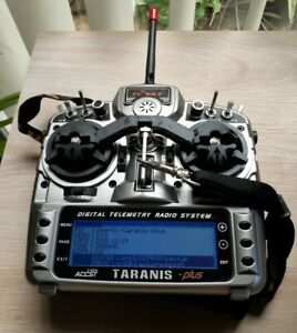 FrSky Taranis X9D Plus Remote Control Transmitter 2.4Ghz ACCST Firmware