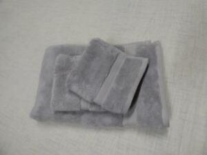 $102.00 Hotel Collection Finest Elegance Hand Towel and 2 Washcloths Set, Mica