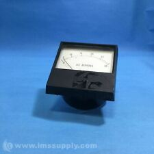 SIMPSON 2153 PANEL METER, 0 TO 25 AC AMPS, 5ACA/30ACA USIP