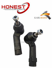 For FORD FUSION FIESTA V 2002-2008 FRONT OUTER TRACK ROD ENDS X2 L&R By Karlmann