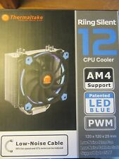 THERMALTAKE RIING SILENT 12 BLUE CPU FAN FOR INTEL