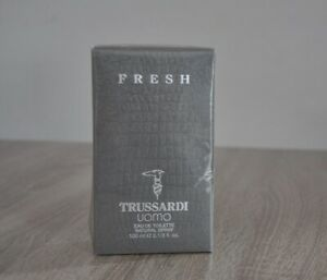 TRUSSARDI FRESH UOMO EDT 100ml, VINTAGE, VERY RARE, NEW IN BOX, SEALED