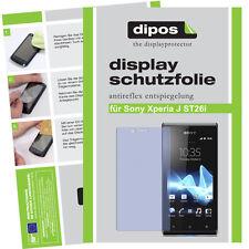 1x Sony Xperia J ST26i screen protector protection guard anti glare