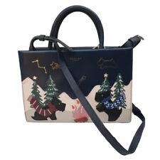 Radley London Leather Purse Stargazing Grab Multiway Dogs Fire Trees