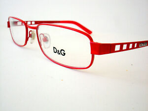 Dolce & Gabbana D&G Eyeglasses 5041 Red 107 Authentic 52-17-135