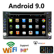 """GPS Navigation DVD Player Car Stereo Double 2Din 6.2"""" Android 9.0 Wifi 4G Radio"""