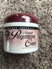 Source Naturals Progesterone Cream 4 oz. Cream Expires 9/2020