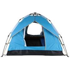 Waterproof 3-4 People Automatic Instant Pop Up Family Tent Camping Hiking