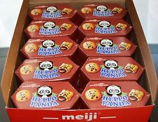 Meiji Hello Panda Cookies Filled with Chocolate Creme Pack of 10 Made in USA