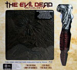 The Evil Dead Anthology 1981-2013 Brand New Region B Blu Ray x4 Region 4 DVD x2