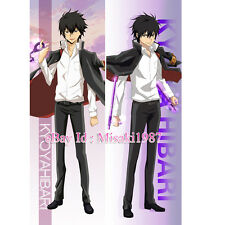 Hitman Reborn Dakimakura Kyoya Hibari Anime Hugging Body Pillow Case Cover