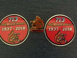 Mongoose  Tom McEwen   2 stickers   1 pin