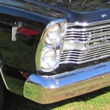 4x Scheinwerfer Mit Leuchtmittel Ford Galaxie 59-74 LTD 65-78 Thunderbird