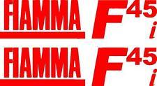 2 X Fiamma F45 me caravan/motorhome Calcomanías Stickers elección de colores