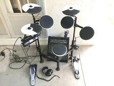 Roland Td-4Kp electric drums v-drum set with Simmons 50 watt drum amp/speaker
